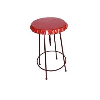 Anticline Vintage Stehtisch Bistrotisch Modell Kronkorken Soda rot