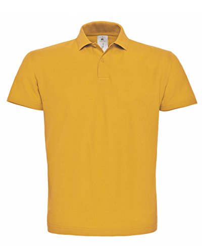 B&C Herren T-Shirt Chilli Gold