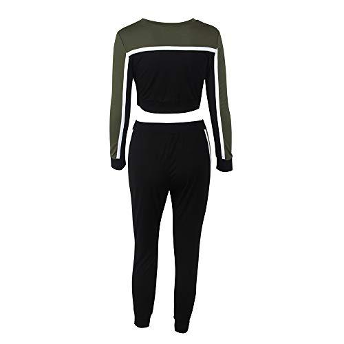 cinnamou Ladies Lounge Wear,2 Stücke Frauen Trainingsanzug Sweatshirt Hosen Sets Sport Langarm Tragen Lässige Anzug
