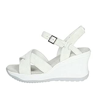 Agile By Rucoline 1871(2-A) Sandal Women Ice Grey 37
