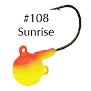 e-Ball Jig - 3/Card - 3/4 Oz - Sunrise ()