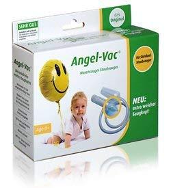 Angel-Vac Nasensauger (Für Standard Staubsauger) Mit extra weichem Saugkopf