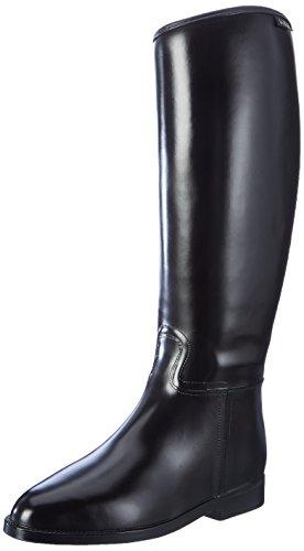 HKM Reitstiefel-Damen Standard-mit Reißverschluß, schwarz, 36