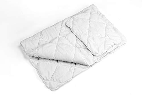 Kinderbettdecke Set 90 x 120 Bettdecke Decke steppdecke und Kissen 40x60 für Baby Kinder Allergiker (90x120 cm + 40 x 60 cm)