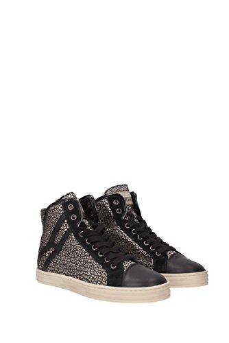 Hogan Sneakers rebel Donna - Pelle (HXW1820I651E6O) EU Nero
