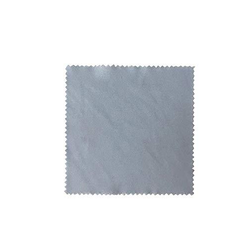 TianranRT Mode 20Pc Brille Tuch Mikrofaser Reinigen Objektiv Staub Nebel Wischer Bildschirm Reiniger (Grau,20Pcs)