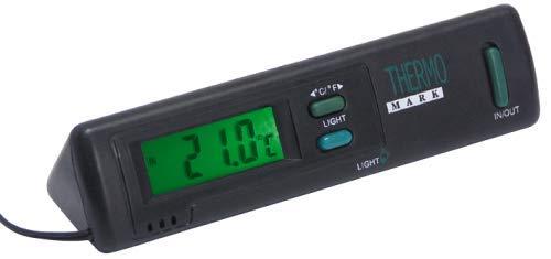 ETT Digitales Thermometer mit Beleuchtung, -50 bis +70 °C In-Out umschaltbar