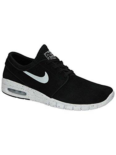 Nike Herren Stefan Janoski Max L Skateboardschuhe Black / Blanco (Black / White)