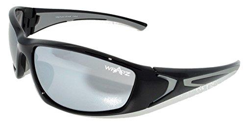 Wrapz Rationaliser TR90 Flex Cadre UV400 Protection Lunettes de Soleil Taille Unique Noir