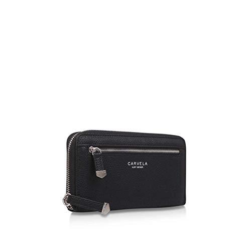 Carvela, Damen-Geldbörse Schwarz Schwarz Standard-Größe