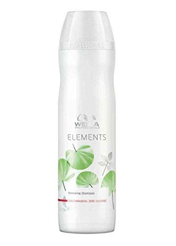 Wella Elements sulfatfreies Shampoo 1 x 250 ml für trockenes-sprödes Haar Professionals Care (Elements Shampoo Wella)