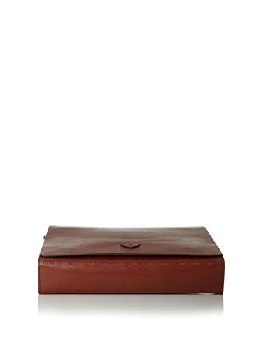 Joop! Oxford Ikaros Sac bandoulière cuir 39 cm burgundy cognac