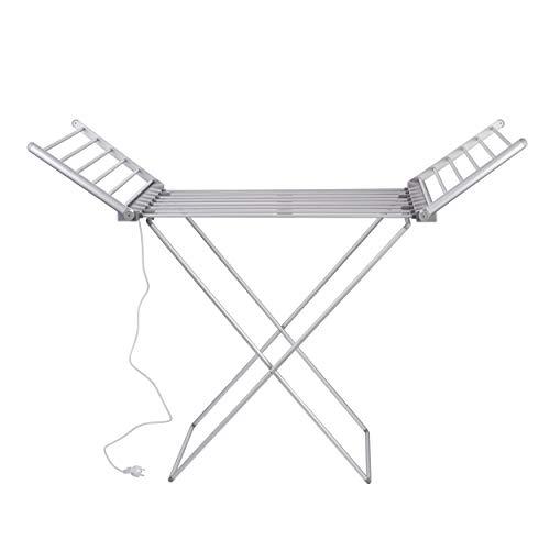 VILSTEIN Flügelwäscheständer, Elektrisches Trockengestell aus Aluminium, stabil,