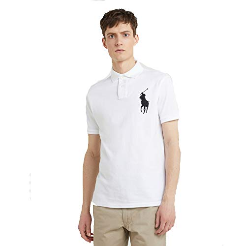 Big Pony Shirt (Ralph Lauren Polo für Herren Big Pony Custom Fit (L, White))
