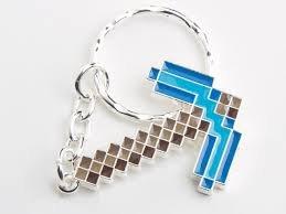 JINX- Minecraft Llavero Diamond Pickaxe (3784)