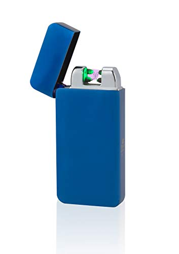 TESLA Lighter T10 Double ARC Blau