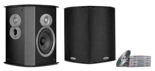 Polk Audio FXi A4 Surround Lautsprecher (Paar) schwarz