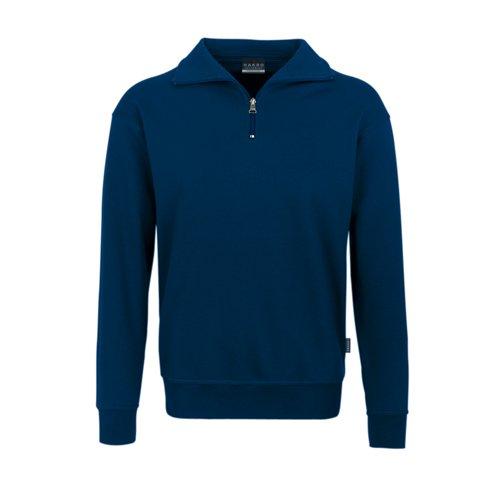 Hakro Zip Sweatshirt Premium, marine, 3XL (Arbeitshemd 3x)