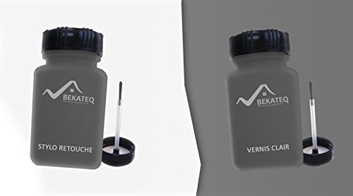 2x50ml stylo de retouche pour renault gng noir amethyste m. Black Bedroom Furniture Sets. Home Design Ideas