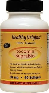 Healthy Origins, Tocomin Suprabio, Tocotrienol Complex 50mg 60 Softgels from Healthy Origins