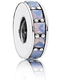 Pandora Charm Infinito de mujer 925plata cristal blanco Brillant esmerilado–791724Now