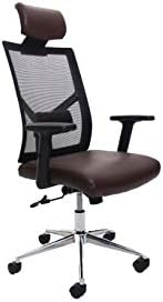 Multi Home Furniture MH-6157 Ergonomic Computer Desk Chair for Office and Gaming with headrest, back comfort a