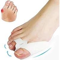 Petsdelite® 2 Piezas de Silicona Suave separadores de Dedos de Gel alisador juanetes Protector