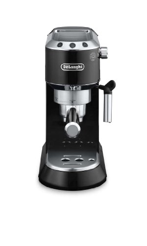 De'Longhi EC680.BK Dedica Coffee Machine with 15 Bar Espresso Pump – Black