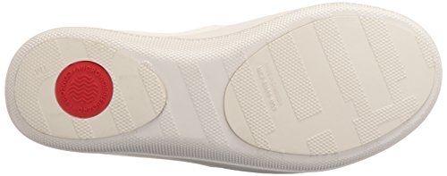 Fitflop Ringer Welljelly Flip Flops, Scarpe Col Tacco Donna Off-White (Urban White)