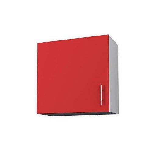 OBI Meuble haut de cuisine 60 cm - Rouge mat