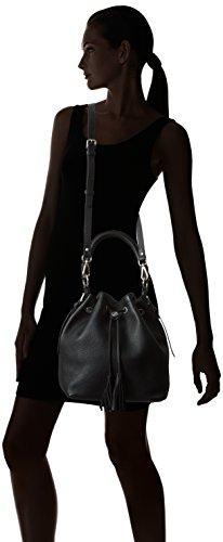 Bogner Leather - Anela, Borsa modello bowling Donna Nero (Black)