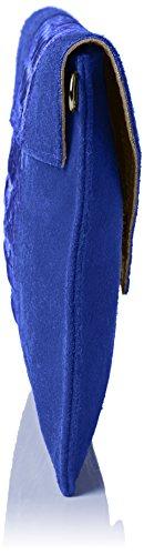 Girly HandBags Damen Patrizia Tasche, One Size Blau (Königsblau)