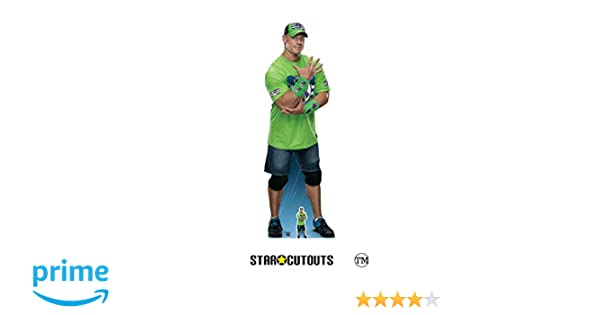 "Fight Hard multicolour 185 x 60 x 185 cm STAR CUTOUTS LTD John Cena /""Live Fast No Regrets!/"" Cardboard"