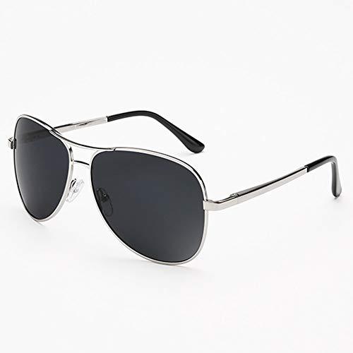 YIWU Brillen & Zubehör Schwarze Pilot Sonnenbrillen Herren Polarized Sonnenbrillen Womens Mirrored Lens (Color : Black-3) Womans Black 3