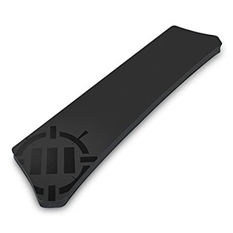 Wrist Rest Pad For Gaming Keyboards - Full Size Mechanical Keyboards with Ergonomic Support , Non-Slip Rubber Backing , No-Fray Design by ENHANCE - Great with Razer DeathAdder , VicTsing , Corsair , CM Storm , Logitech and