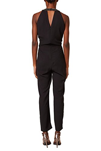 ESPRIT Collection Damen Jumpsuit 127EO1L002, Schwarz (Black 001), 40 - 2