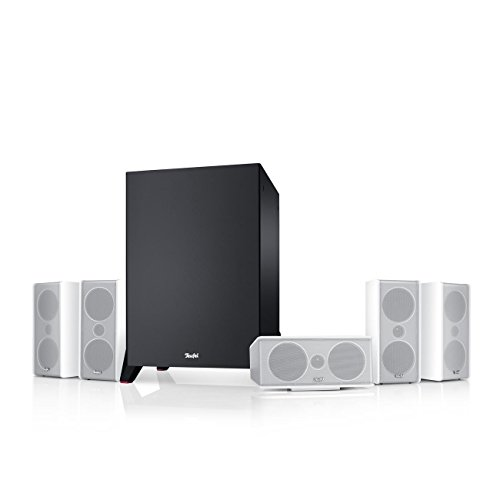 Teufel Consono 35 Mk3 5.1-Set Weiß Heimkino Lautsprecher 5.1 Soundanlage Kino Raumklang Surround Subwoofer Movie High-End HiFi Speaker