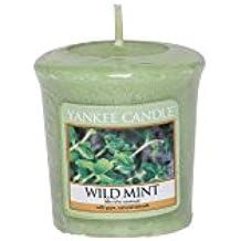 Yankee Candle Wild Mint votive Candle, Wax, verde, 4.7x 4.5x 5cm