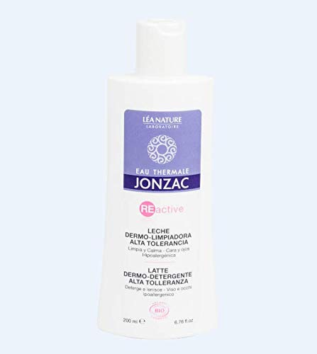 LÉA NATURE Jonzac Reactive leche dermo-limpiadora alta tolerancia 200 ml