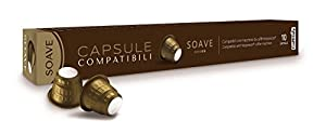 Purchase Nespresso Soave Premium Pods by Caffitaly (Pack of 10) by Nespresso