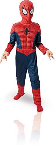 Marvel 154635M - Costume da bambino Spiderman, 5-6 anni, Modelli/Colori Assortiti, 1 Pezzo