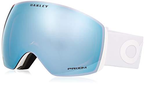 Oakley Herren Flight Deck 705037 0 Sportbrille, Weiß (Factory Pilot Whiteout/Prizmsapphireiridium), 99