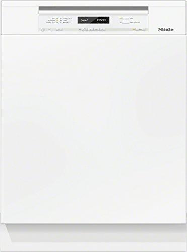 Miele G6300 SCi D BW230 2, 1 EcoLine Geschirrspüler Teilintegriert / A+++ / Brillantweiß / 237 kWh/Jahr / 2716 Liter/Jahr / 14 MGD / Frischwasserspüler ab 6,5 Liter Wasserverbrauch
