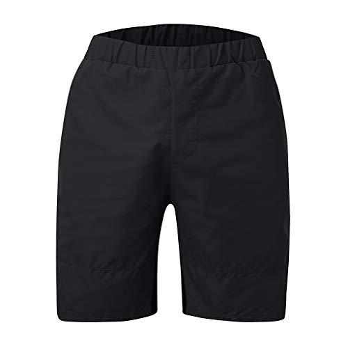 Herren Spezial Rückentasche Doppelschicht atmungsaktiv Schweißabsorption Quick Dry Sports Shorts Zolimx
