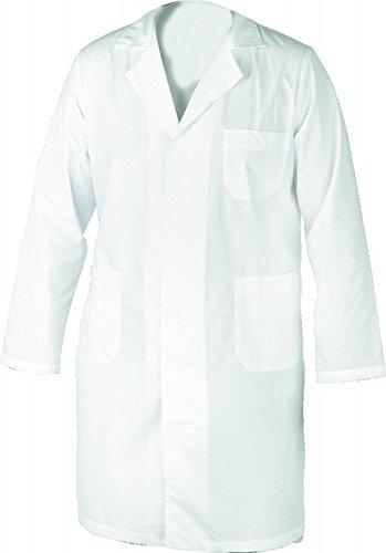 Camice da donna medico farmacista erboristeria in cotone classico ospedaliero TG. M/44