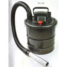 Inglenook 18 Litre Ash Vacuum Fireplace Cleaner BBQ Chimney Dirt Collector Ash Vac 1200W