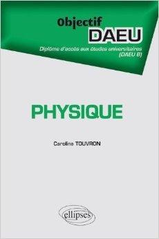 Objectif Physique DAEU de Caroline Touvron ( 21 fvrier 2012 )