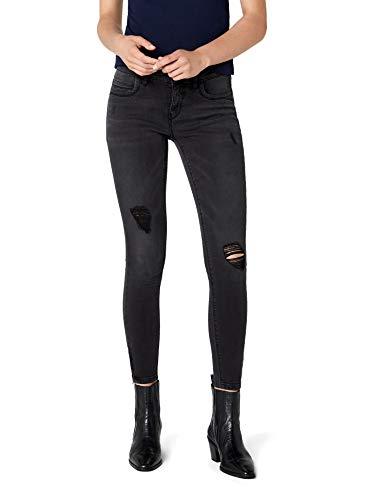 ONLY Damen onlKENDELL REG ANK DNM BJ9508 NOOS Skinny Fit Jeans, Schwarz (Black), W29/L32 - Schneiden Schwarzes Rohr