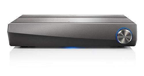 Denon HEOS AVR (5.1 AV-Receiver, Bluetooth, Amazon Music, WLAN, HDR, HDCP 2.2, ARC, Dolby TrueHD, Dolby Digital und DTS-HD Master Audio, Aluminium-Gehäuse) gun metal silber -