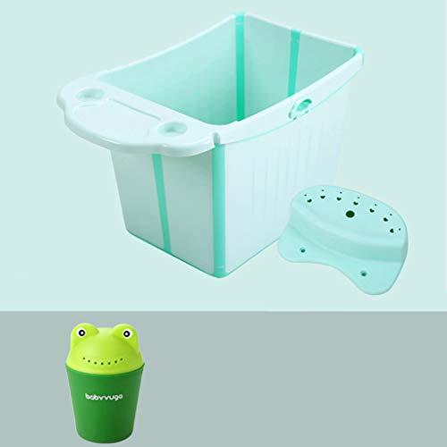 Ali@ Umweltfreundliche Materialien verdicken extra große Neugeborene können Klappeimer für den Innen- / Außenbereich sitzen (Farbe : Green: Send Green Scoop) -